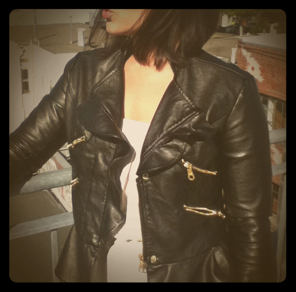 Jackets & Blazers - Leather Jacket