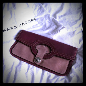 Bags - Marc Jacobs leather / suede clutch