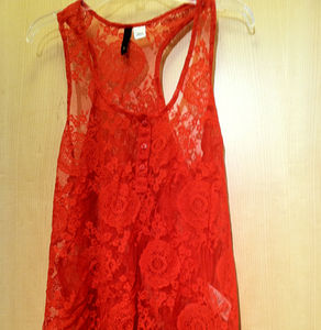 Tops - H&M lace top
