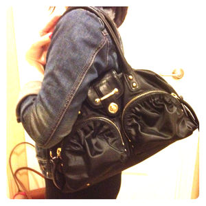 Botkier Handbags - ⚡SALE!! ⚡Botkier Bianca Black nylon satchel
