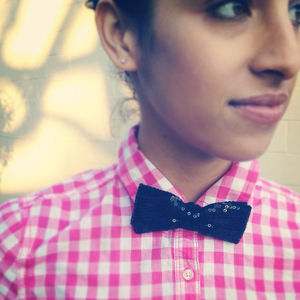 Accessories - Classic Sequin bowtie