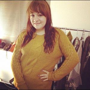 Sweaters - Mustard sweater