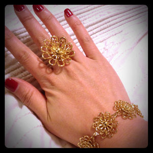 kate spade Jewelry - Reserved for @gordomom: Kate Spade gold daisy ring