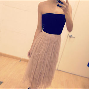 Dresses - Strapless dress