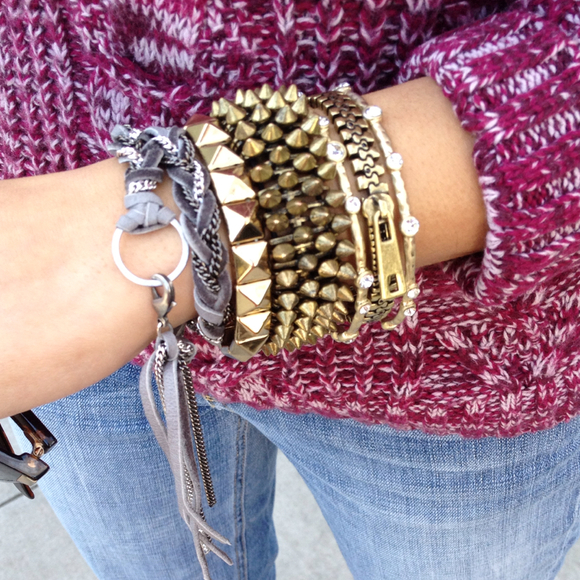 Liz Larios Jewelry - Liz Larios leather wrap bracelet