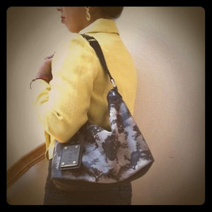 L.A.M.B. Lace Print Shoulder bag- update!