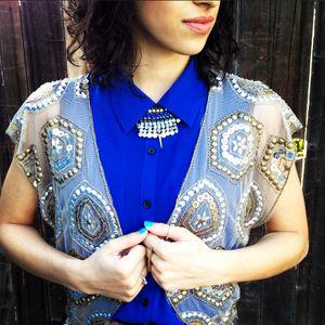 Jackets & Blazers - Sequin bolero
