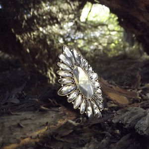 Accessories - Lace inspired cocktail ring
