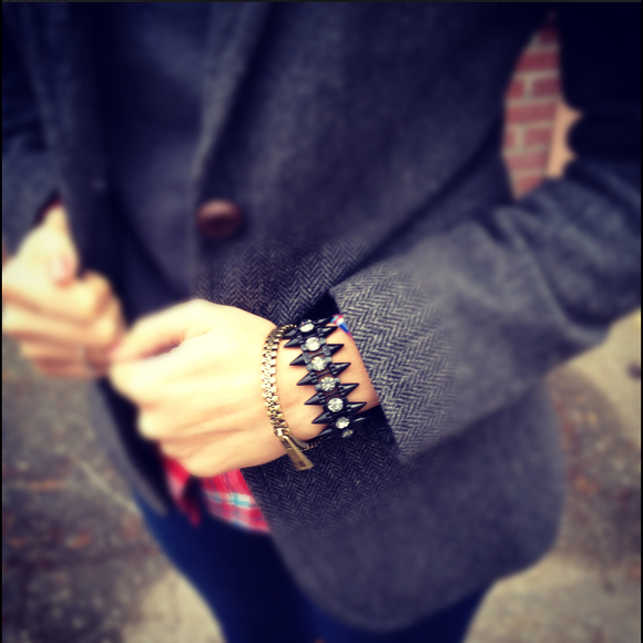 Jewelry - Black Spike bracelet