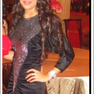 Dresses & Skirts - Black sparkly dress
