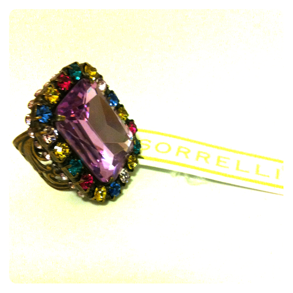 sorrelli Jewelry - REDUCED! - Sorrelli multi-colored ring