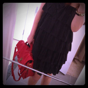 Erin Fetherston x Target black tiered dress