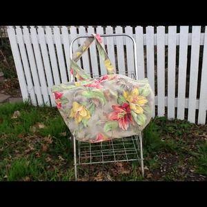 Handmade Hawaiian Print Day Bag or Carry-all