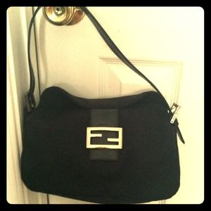 Vintage black Fendi purse RESERVED