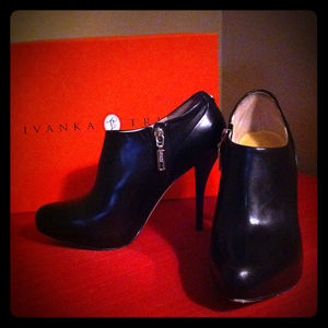 Ivanka Trump Shoes - Leather Booties!!!