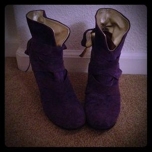 Boots - Marc Jacobs purple booties