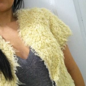 Rodarte Jackets & Blazers - Rodarte for Target furry jacket/vest. New!