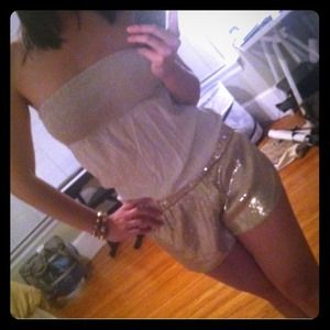 Zara Other - Zara sequin romper