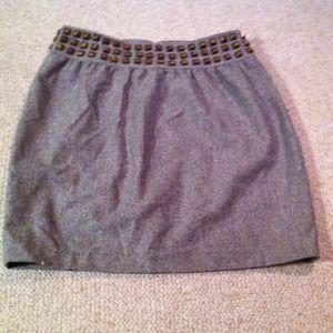 Silence and Noise skirt with studded waist band