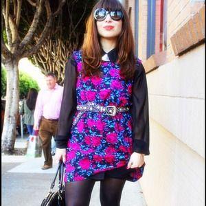 Forever 21 Dresses - Floral print dress