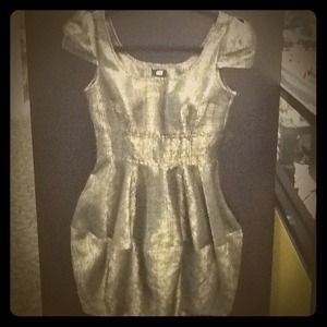 H&M Dresses & Skirts - H&M Bronze Bubble Dress