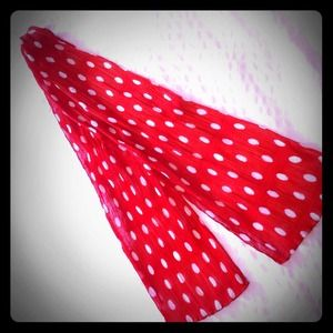 Accessories - Pin-up polka dot scarf