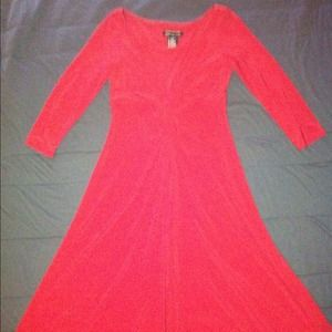 JNY knotted front dress