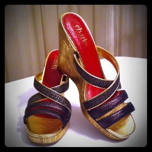 Charles David Shoes - 🔴Sold🔴Brand New✨((( Wedge Sandals )))