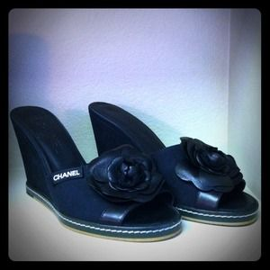 CHANEL Shoes - Chanel wedges REDUCED