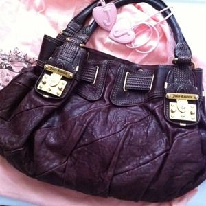 Juicy Couture Handbags - Juicy Couture Raspberry Purse