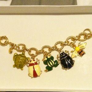 J.Crew charm bracelet!