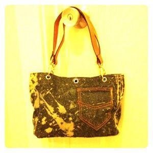 Reduce-Denim purse