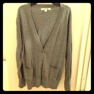 Forever 21 Sweaters - Gray cardigan size L
