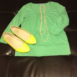 IZOD Tops - 💚IZOD Neon Green Blouse