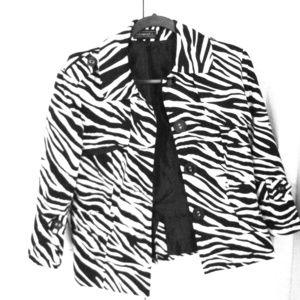 Zebra jacket
