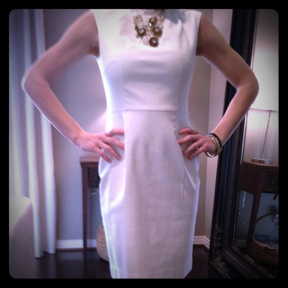 Reduced!! Banana Republic Pleated Collar Dress