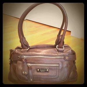 REDUCED!! Brown leather Tignanello satchel