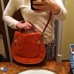 REDUCED Rust-colored leather Rebecca Minkoff bag