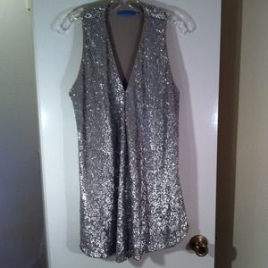 Sparkly sequin Alice + Olivia vest only worn once!