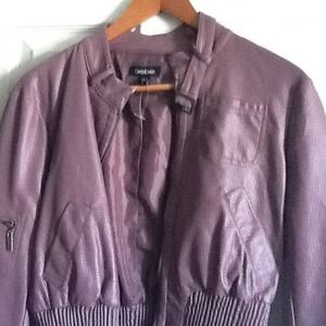 Soft purple stylish jacket