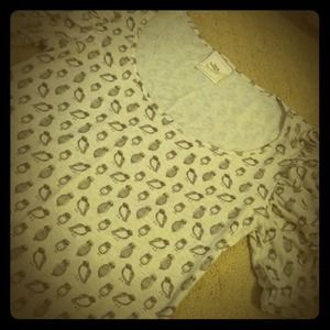 Zara Tops - SOLD! Cute owl printed T