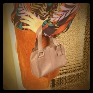 Hobo International Lovely Lavender Buckle Handbag