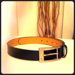A/X Armani Exchange Accessories - Brand New✨A/X Genuine Leather Belt