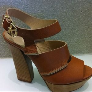 dee keller Shoes - REDUCEDX2 Dee Keller Rebecca platform Sandals-SZ 8
