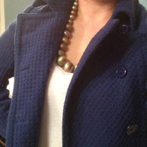 Forever 21 Jackets & Blazers - **hold @sarahmichelle***Cobalt blue waffle coat