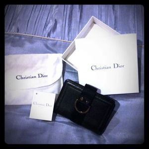 Dior Clutches & Wallets - For @dez Christian Dior Credit Card Wallet