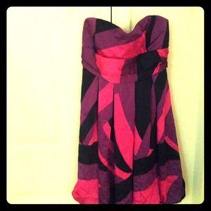 Purple hot pink brand new dress