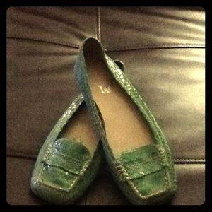 Shoes - Green loafers 💚