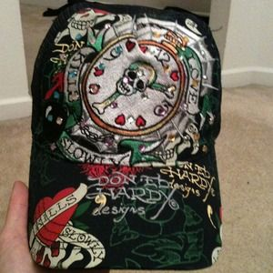 Ed Hardy Accessories - Auth Don Ed Hardy hat