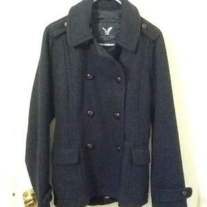 American Eagle Outfitters Jackets & Blazers - RESERVED!!!American Eagle Outfitters pea coat